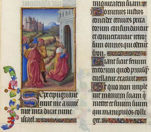 Limbourg Brothers - Psaume CXXVIII