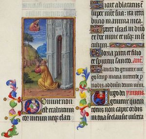 Limbourg Brothers - Psaume CXXX