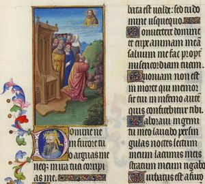 Limbourg Brothers - Psaume VI