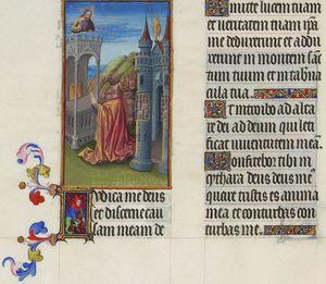 Limbourg Brothers - Psaume XLII