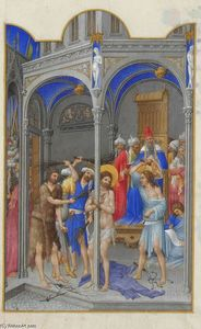 Limbourg Brothers - La Flagellation