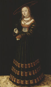 Lucas Cranach The Elder - le princesse