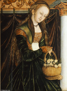 Lucas Cranach The Elder - St. Dorothea