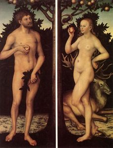 Lucas Cranach The Elder - adam et eve 8