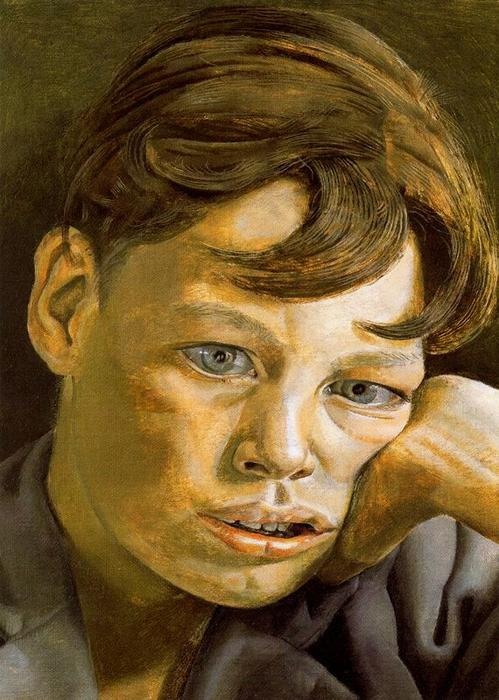 Head Boy, 1952 de Lucian Freud (1922-2011, Germany) |  | WahooArt.com