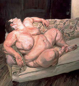 Lucian Freud - Avantages Supervisor Sleeping II