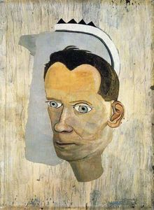 Lucian Freud - Fragment chef de Gerald Wilde