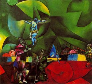 Marc Chagall - Calvaire