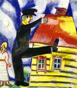 Marc Chagall - marcher