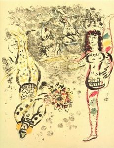 Marc Chagall - acrobaties