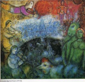 Marc Chagall - le grand parade