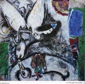 Marc Chagall - le grand cirque