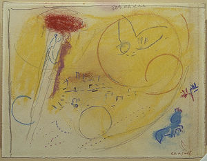 Marc Chagall - chanson des `songs` iii