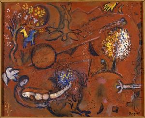 Marc Chagall - chanson des `songs` i 8