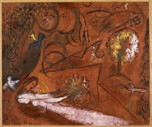 Marc Chagall - chanson des `songs` i 9