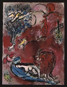 Marc Chagall - chanson des `songs` i 10