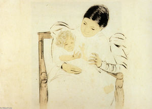 Mary Stevenson Cassatt - Le Befooted enfant