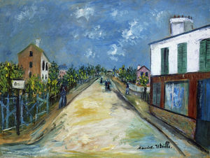 Maurice Utrillo - Route Argenteuil