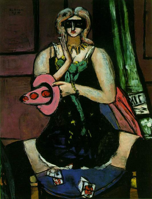 Colombine, 1950 de Max Beckmann (1884-1950, Germany)