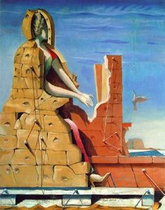Max Ernst - Saint Cecilia (Invisible piano)