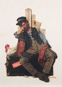 Norman Rockwell - galopade