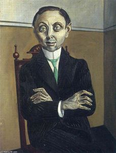 Otto Dix - Portrait à of Paul Se f . Schmidt