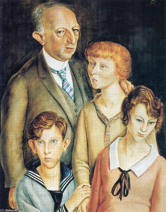 famille portrait de Otto Dix (1891-1969, Germany) |  | WahooArt.com