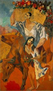 Pablo Picasso - Composition --Peasants--