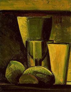 Nature morte huile de pablo picasso 1881 1973 spain - Picasso nature morte a la chaise cannee ...