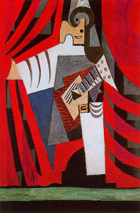 Pablo Picasso - Punchinello guitare