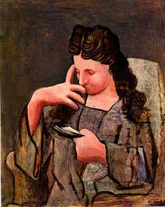 Pablo Picasso - Femme assise ( Olga )