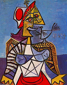 Pablo Picasso - Femme assise 12