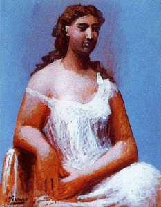 Pablo Picasso - Femme assise 13