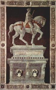 Paolo Uccello - Equestrian Monument de Sir John Hawkwood