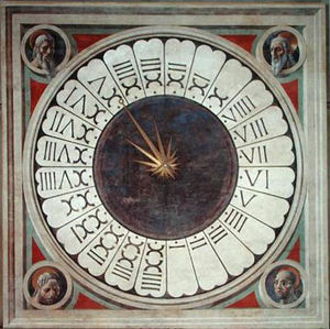 Paolo Uccello - 24 heures Horloge
