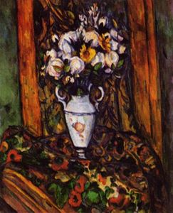 Paul Cezanne - Nature Morte pot à fleurs