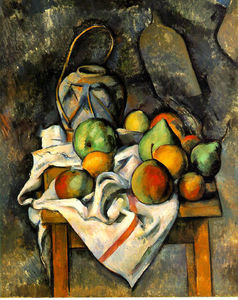 Paul Cezanne - Pot de gingembre