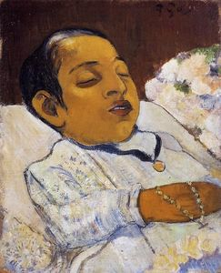 Paul Gauguin - Portrait de Atiti