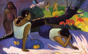 Paul Gauguin - inclinables tahitien femmes