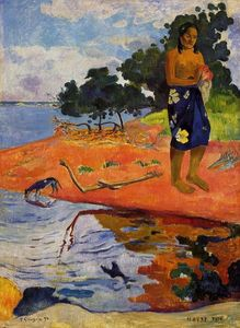 Paul Gauguin - Elle descend à l eau douce (Haere Pape)