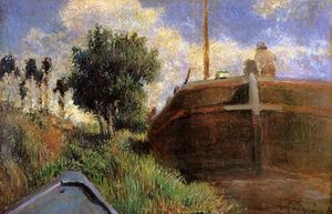 Paul Gauguin - Bleu Barge