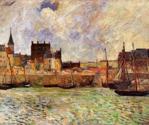 Paul Gauguin - Scène Harbour, Dieppe