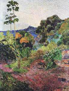 Paul Gauguin - Martinique Paysage