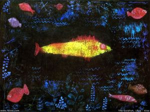 Paul Klee - Le poisson rouge