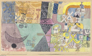 Paul Klee - asiatique enanimateurs