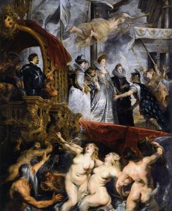 Peter Paul Rubens - The Landing à Marseille, 3e Novembre 1600
