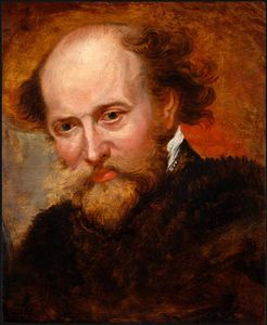 Peter Paul Rubens - autoportrait