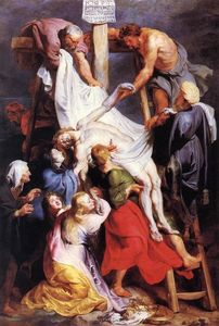 Peter Paul Rubens - `descent` de l- croix