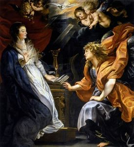 Peter Paul Rubens - Annonciation
