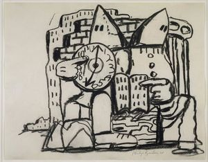 Philip Guston - Sans titre